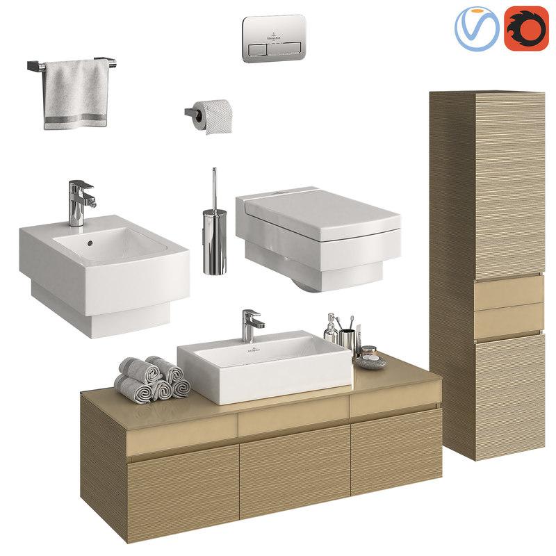 furniture villeroy boch memento 3D