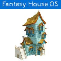 fantasy house 3D model