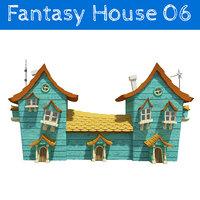 3D model fantasy house