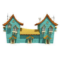 3D model fantasy house