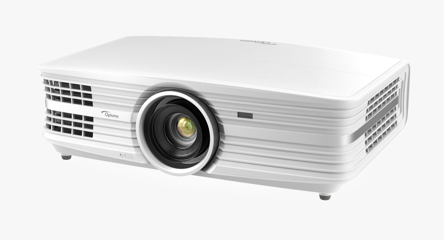 home theatre projector optoma 3D model