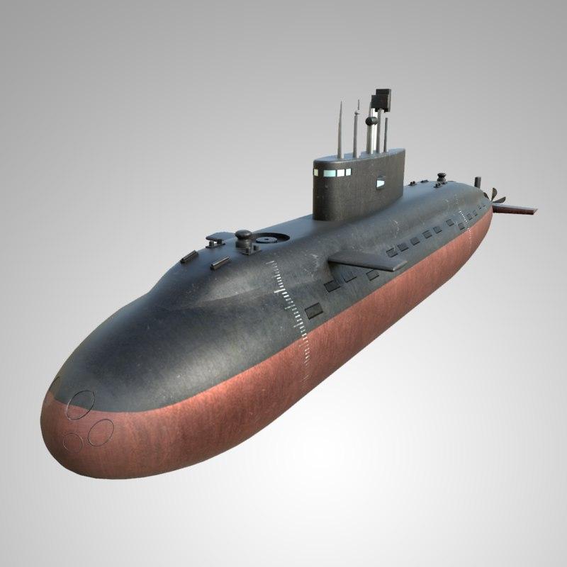 3D submarine navy