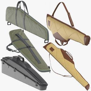 3D rifle cases