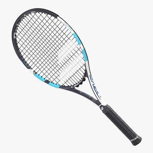 tennis racquet babolat pure 3D