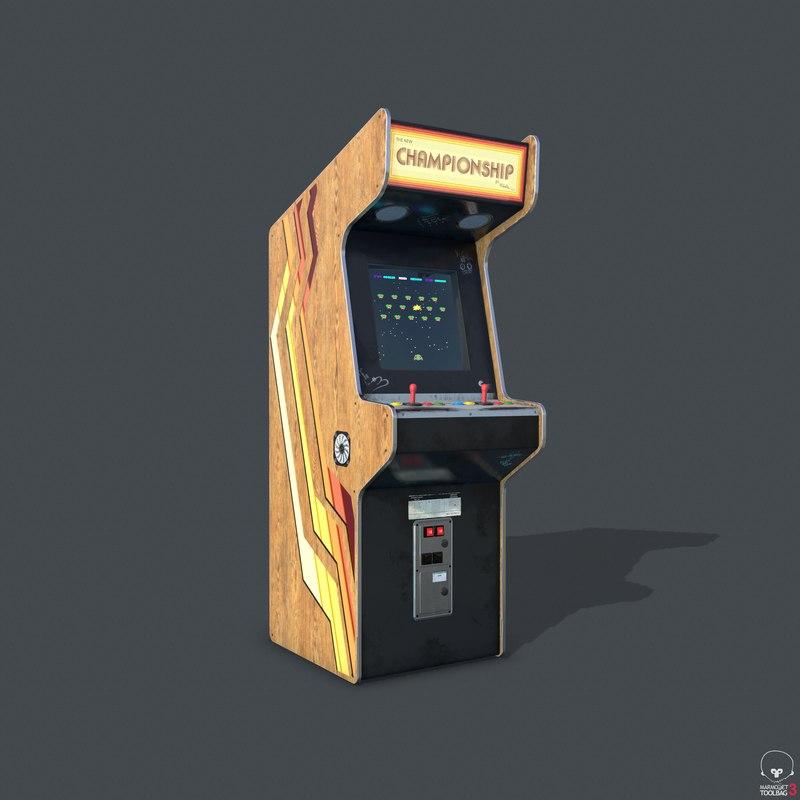 3D pbr machine