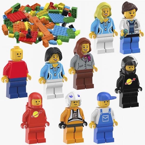 lego games design 3D model
