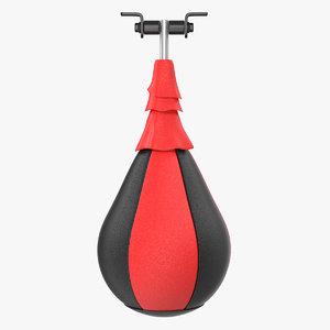 punching bag speed ball 3D model