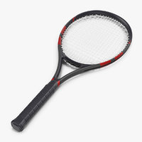 3D tennis racquet