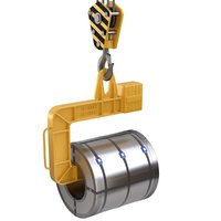 Coil Lifter with Steel Coil
