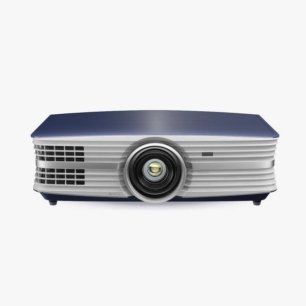 home theatre projector generic 3D model