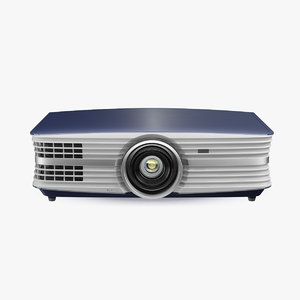 home theatre projector generic 3D model