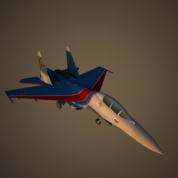 air force rus 3D model