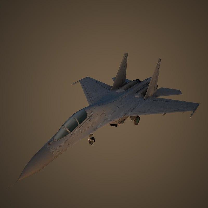 3D model air force