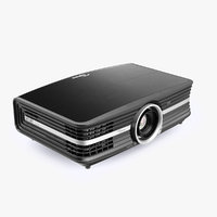 Optoma UHD60 4K Home Theatre Projector Black 3D Model