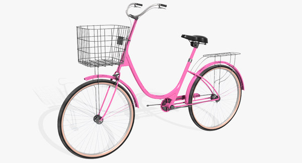 3D ladies bicycle