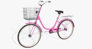 3D ladies bicycle