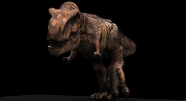 3D rex animation