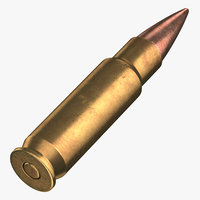 3D bullet 28 mm laying