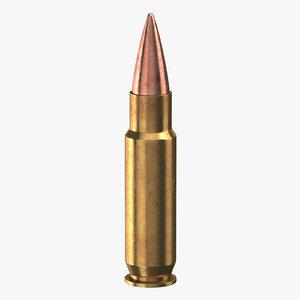 3D model bullet 28 mm