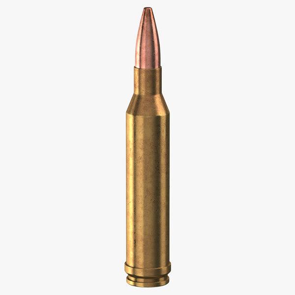 3D bullet 300 winchester magnum