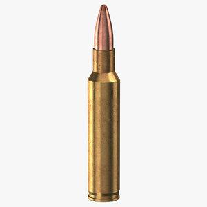 bullet 45 mm nato 3D model