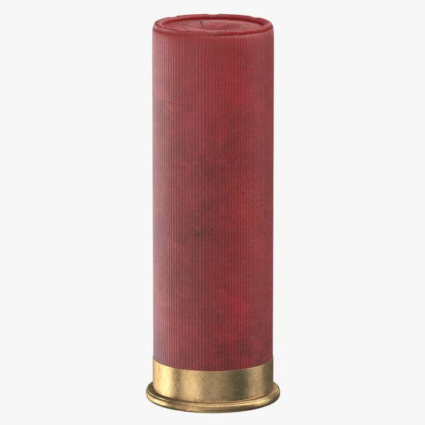 bullet 70 mm 3D model