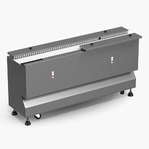 3D conveyor belt machine