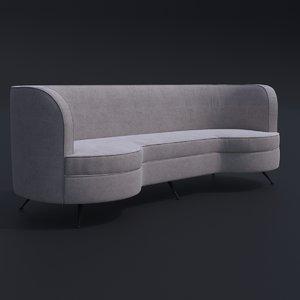amalfi sofa furnishing 3D