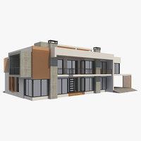 modern house 3 model