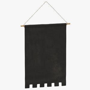 3D hanging banner 05
