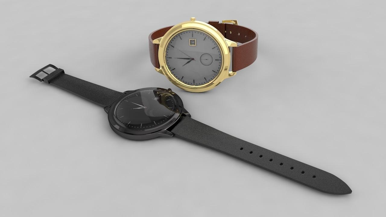 watch hand 3D model