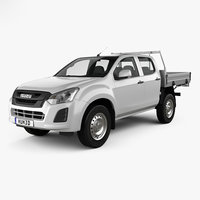 3D model isuzu d-max sx
