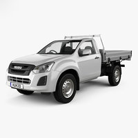 3D isuzu d-max sx model