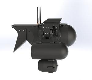 3D aquapod drone