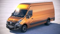 Renault Master Van 2018 Maxi