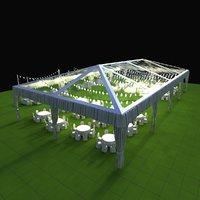 3D model 3dmodel tent