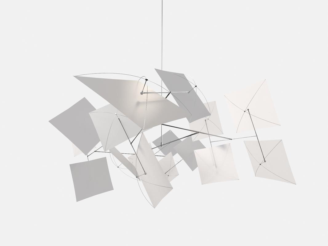 3D abstract sculpture
