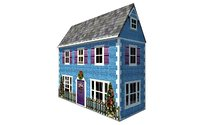 christmas house model