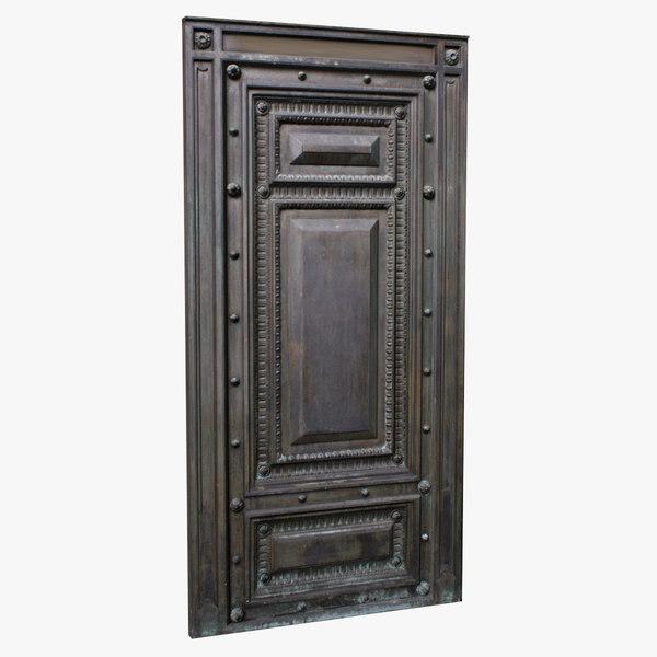3ds door dark weathered