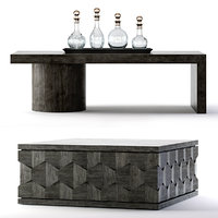 Bernhardt Linea Cocktail Tables