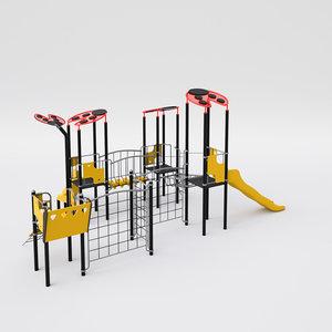 ladybird playground model