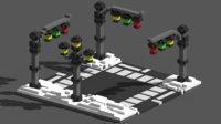 voxel road 3D