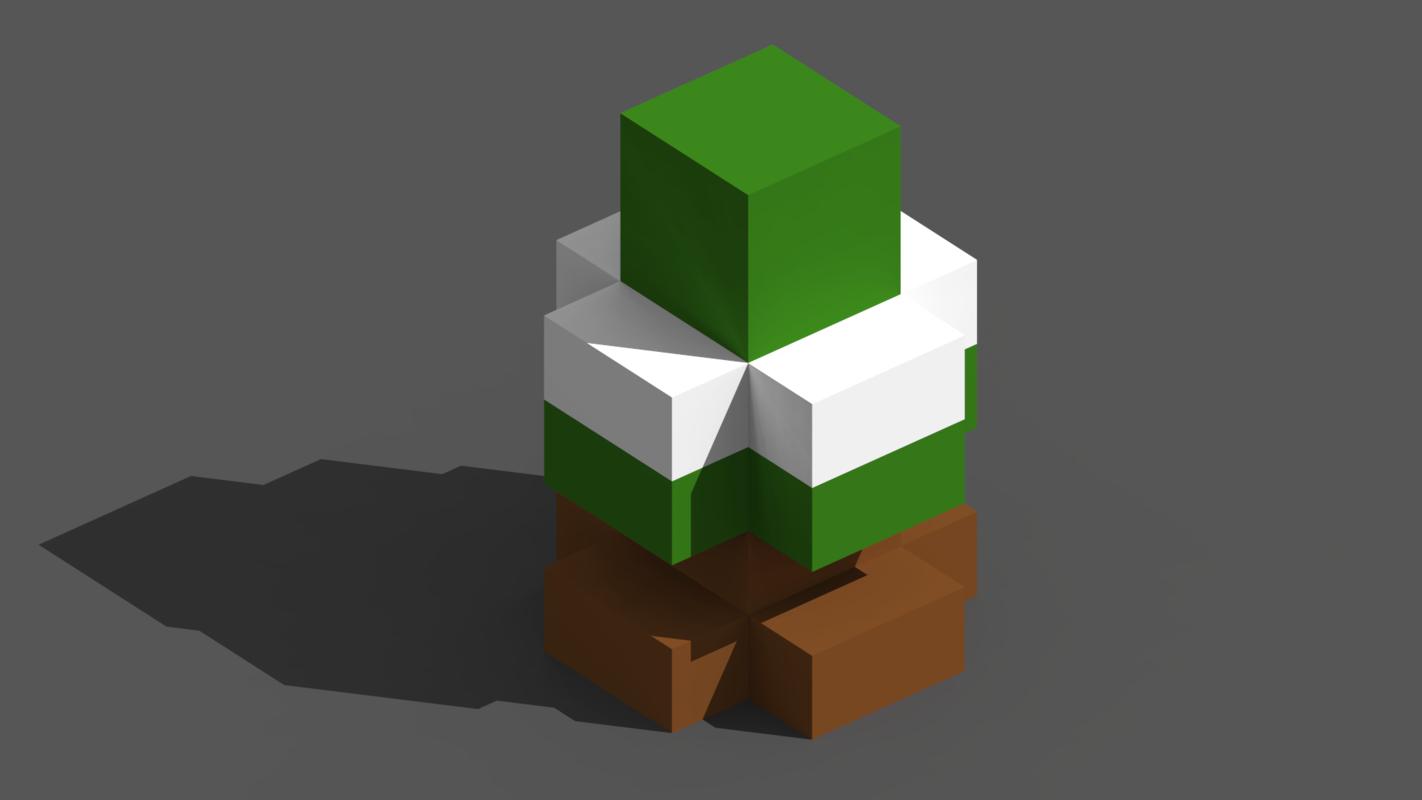 tree xmas model