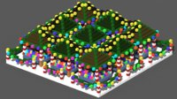 3D voxel market