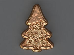 cookie tree 3D model