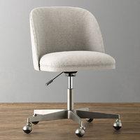 alessa upholstered desk chair 3D model