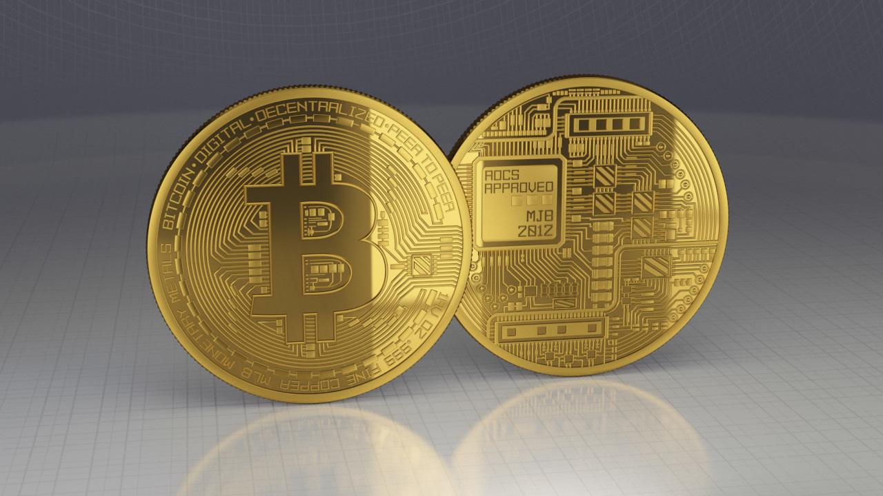 bitcoin - 3D