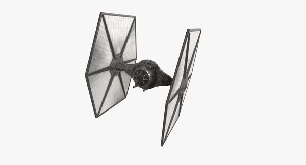 3D space superiority fighter model