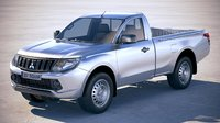 mitsubishi l200 single 3D model