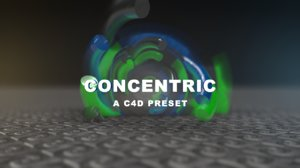 3D concentric preset model